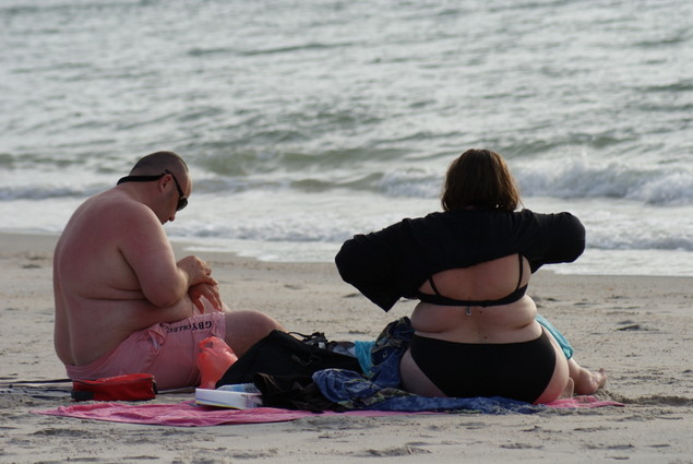 Fat People at The Beach Fat People at